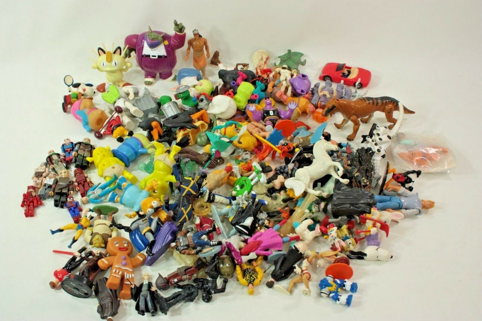 Lego Mcdonalds Burger King Others Action figures Toy Lot of 120