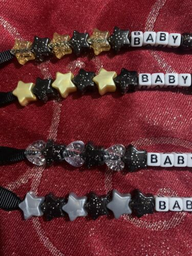 Special Occasion Dummy Clip Black /& Gold Or Black /& Silver ❤️⭐️ Ideal