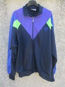 Détails sur Veste ADIDAS sport années 80 vintage Trefoil jacket giacca jacke 42 44 L XL