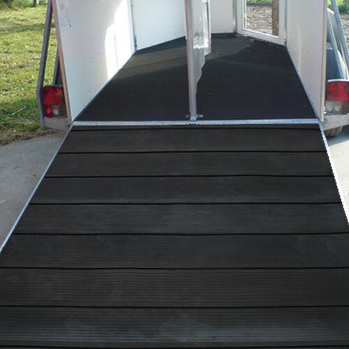 Pferdeanhänger Rampenmatte   Breite 1 1 1 75 x Länge 1 54 m ac46fc