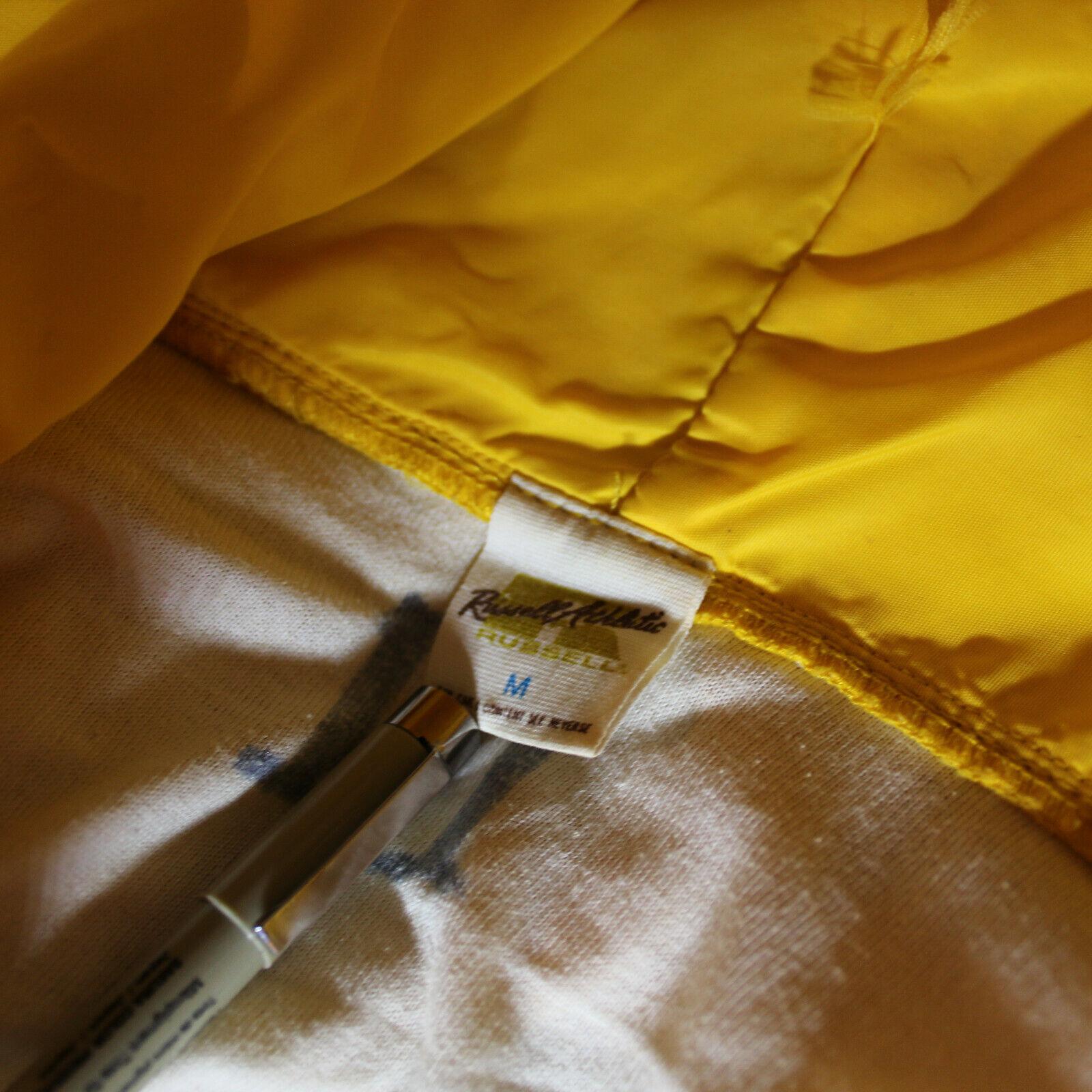 VTG 70s Russell Zip Hooded Jacket Medium School C… - image 6