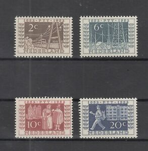 Z4659-NETHERLANDS-Y-amp-T-578-581-COMPLETE-MINT-MNH-CV-145