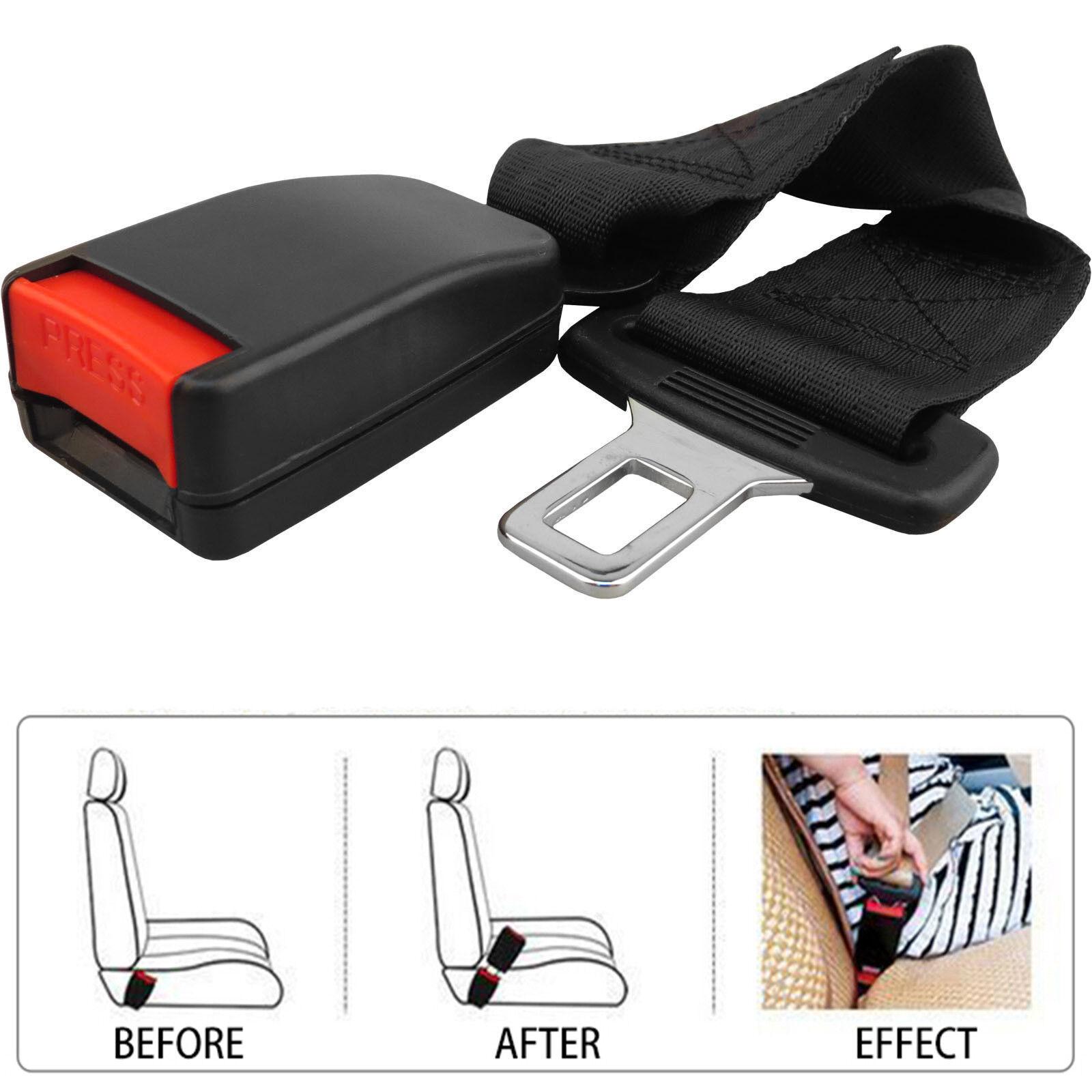 1 x universel voiture auto ceinture de s curit extension boucle de support 36cm ebay. Black Bedroom Furniture Sets. Home Design Ideas