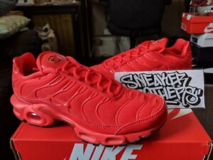 on sale be2ca b93e0 Details about Nike WMNS Air Max Plus Tuned TN Light Crimson Red Black White  AV8424-600 Womens