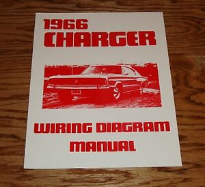 1966 dodge charger wiring diagram manual 66 ebay rh ebay com 1966 dodge charger headlight wiring diagram 1966 charger wiring diagram manual pdf free