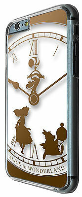 459 Clock Alice in Wonderland Case Cover For iphone 6 6S/6 Plus iphone 4 5 5C