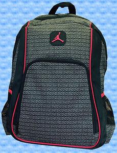 41ef2b0176 Nike Air Jordan Jumpman 23 Backpack Black Red Grey Gray 9A1223 023 ...