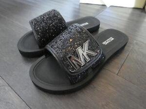 2b1b2f2ea484 Michael Kors Toddlers girls Eli Gear slides sandals sandels shoes ...