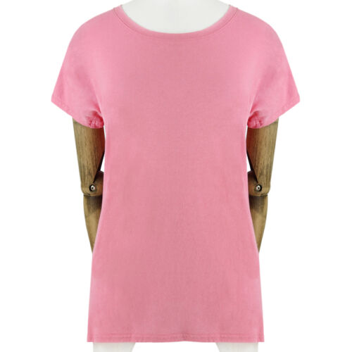 coton doux Fr34 shirt et luxurieusement doux T Uk6 en rose Balmain t1wpOqn