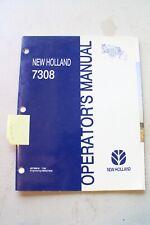 New Holland 7308 Loader Operators Manual
