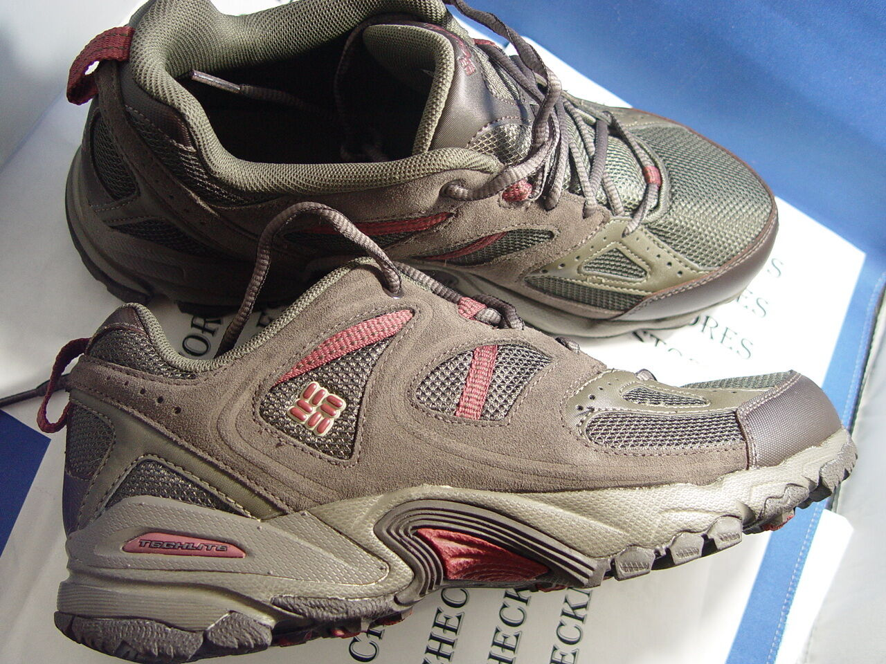Nuevo En Caja Columbia Sportswear Para Hombre Wallawalla 2 Low Omni-tech zapato de senderismo