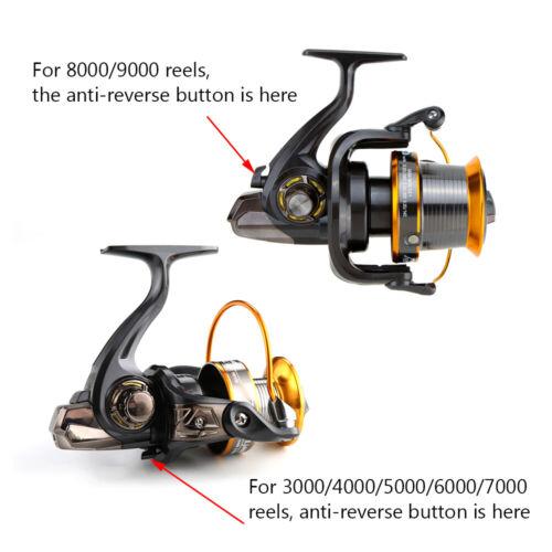 12+1BB 13 Ball LJ3000-6000 Bearings Fishing Reels Big Sea Fishing Wheel USA N2L8