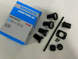 Shimano EW-RS910 Di2 Junction (A) Control Box (Fits For Bar and Frame) Black