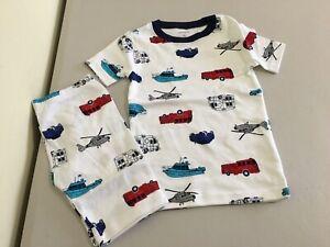 New Carter/'s Boys Alligator Pajama Snug Fit Green White Shorts Toddler 3t,4T,5t
