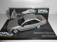 OPEL OMEGA A KILLMER OPEL COLLECTION EAGLEMOSS IXO 1:43