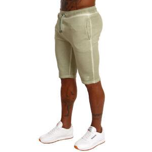 Sik-Silk-Mens-Designer-Slouch-SS10106-Khaki-Jogger-Tracksuit-Shorts