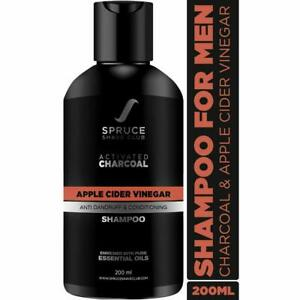 Spruce Shave Club Activated Charcoal Anti Dandruff Shampoo For Men 200 ml