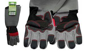 Arbeitshandschuhe-Garten-Arbeit-Handschuhe-Rosenhandschuhe-Ellbogen-Lang