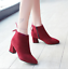 Women-039-s-Autumn-Winter-Short-Boot-High-Heel-Shoes-Warm-Martin-Boots-Plus-Size miniature 6
