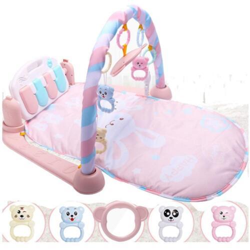 Cartoons Fitness Gym Musical Mat Spielzeug Neugeborenes Baby zac