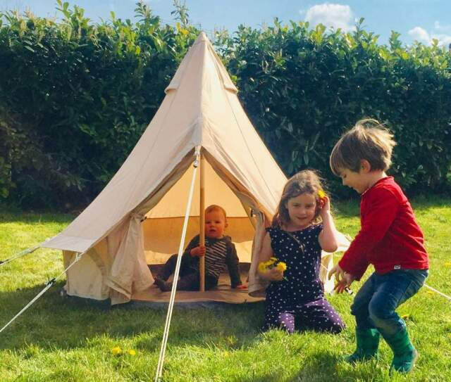 BabyBelle Kid's Outdoor Activity Bell Tent / Kid Tipi Tent by Bell Tent Boutique