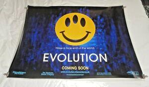 Evolution Original UK Quad Movie Cinema Poster 2001 David Duchovny