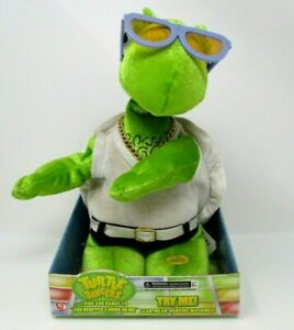 Gemmy-Animated-Plush-Turtle-Dancers-sings-dances-You-Dropped-A-Bomb-On-Me-2006