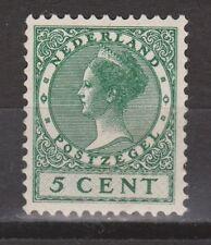 NVPH Netherlands Nederland nr 177 MLH ong. 1926-1939 Wilhelmina Pays Bas
