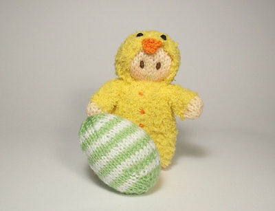 Easter Bunny Bitsy Baby Knitting Patten