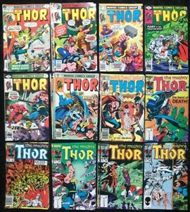 The-Mighty-Thor-Vol-1-240-349-Lot-of-28-Bronze-Age-Marvel-Comics