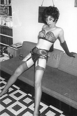 1940s-60s (4 x 6) Repro Risque Pinup RP- Petite Woman