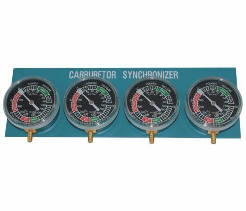 Biket Vakuummeter Vergasersynchronisation Vergaser Carburetor Synchronizer 2-4