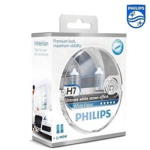 2-AMPOULE-H7-W5W-PHILIPS-WHITE-XENON-EFFECT-PEUGEOT-307-308-406-607-3008-5008