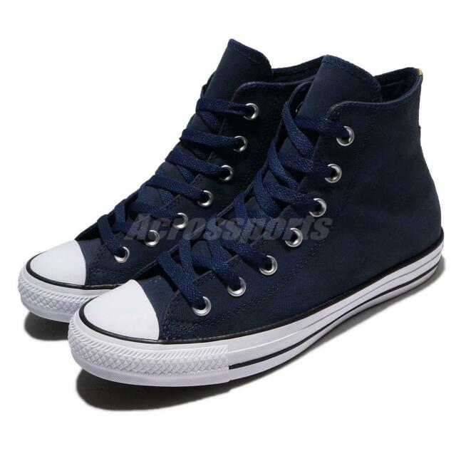 7a1e53447ea7 Converse Chuck Taylor All Star Hi Top Blue White Men Shoes Sneakers 159610C