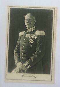 Friedrich-II-Grossherzog-Von-Baden-IN-Uniform-With-Order-General-1915-4726