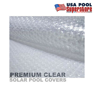 16/'x32/' Rectangle Swimming Pool Solar Cover Blanket 14mil Premium Clear
