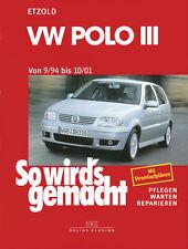 VW POLO 6n Reparatur-Anleitung Reparaturhandbuch Jetzt helfe ich mir selbst Buch