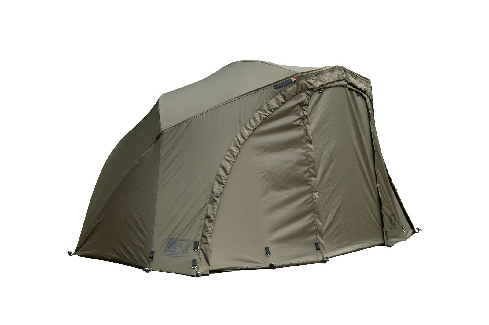 Fox R Series Brolly System cum259 brollie OVALE Shelter ombrello tenda OMBRELLONE