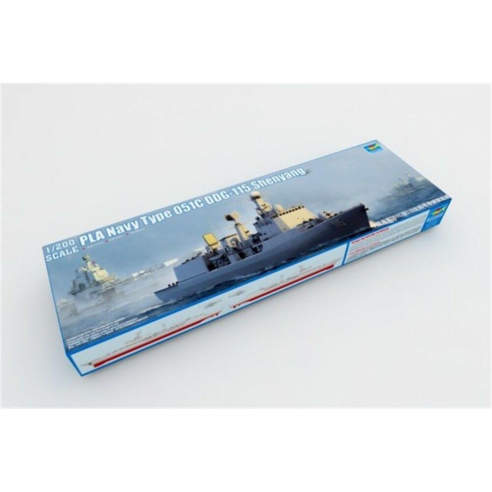 1 200 Trumpeter Pla Navy Type 051c Air Defence Ddg - 1200 03619 Plan Model Ship