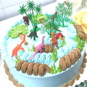 16pcs-Set-DIY-Cake-Topper-jungle-dinosaure-ornements-gateau-cuisson-DecorDN