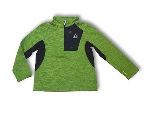 NEW Gerry Boy/'s 1//4 Zip Lightweight Fleece Lined Sweatshirt Jacket