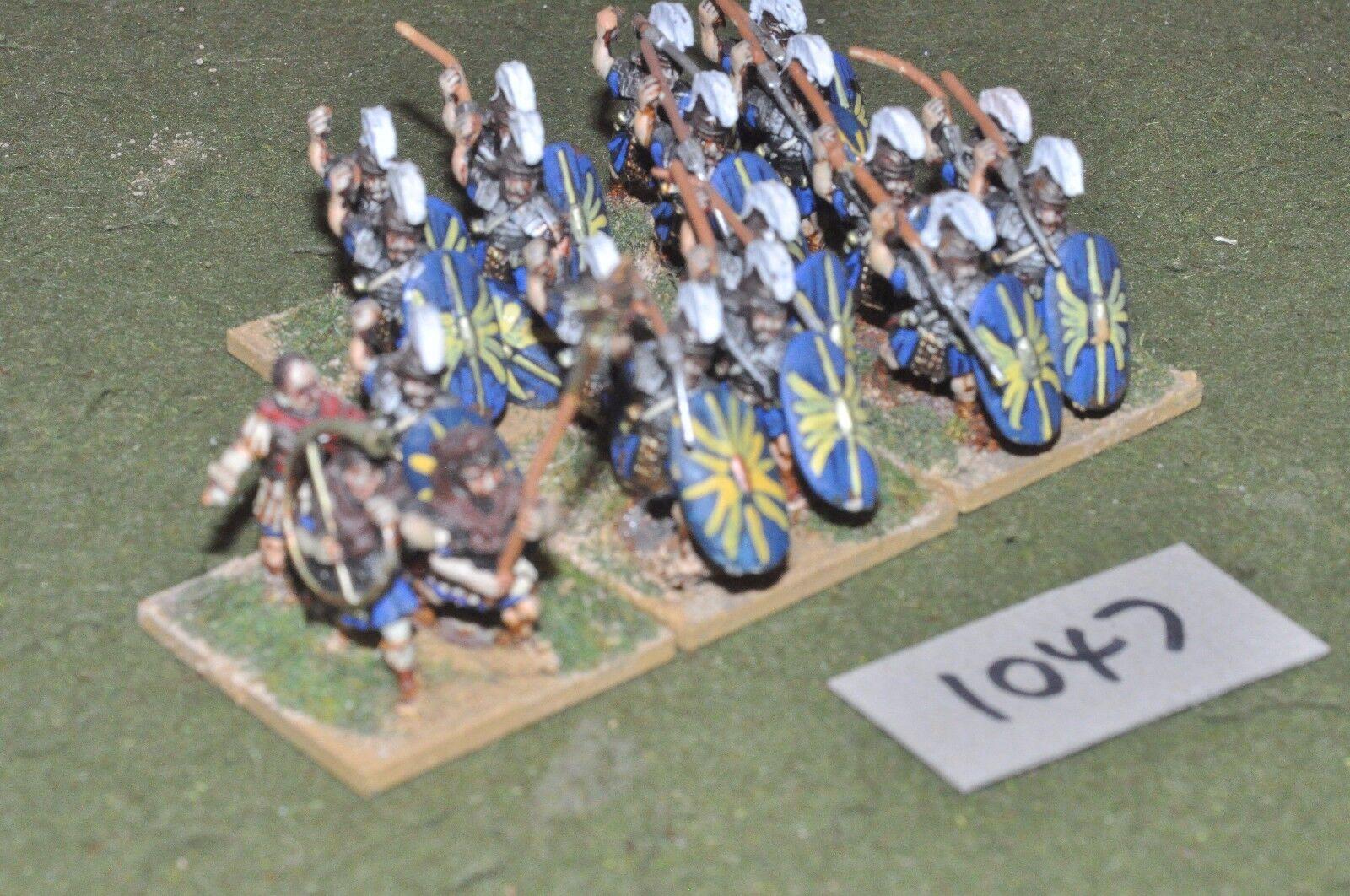 25mm roman era   roman - late 24 infantry figs - inf (10047)