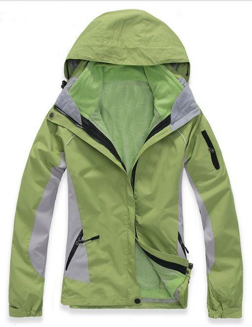 daSie Ski Jacket Snowboard D11 Lady Grün Snow Winter Waterproof 6 8 10 12 14