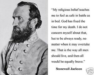 stonewall jackson u s civil war general christian quote x