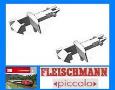 FLEISCHMANN 9525 Set N.2 GANCIO NEM con INNESTO DIRETTO tipo BAIONETTA SCALA-N
