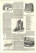 1846 GASTRONOMIA miglioramenti Torrefazione gamma STUFA A GAS Carne Sicuro cassetto ghiaccio