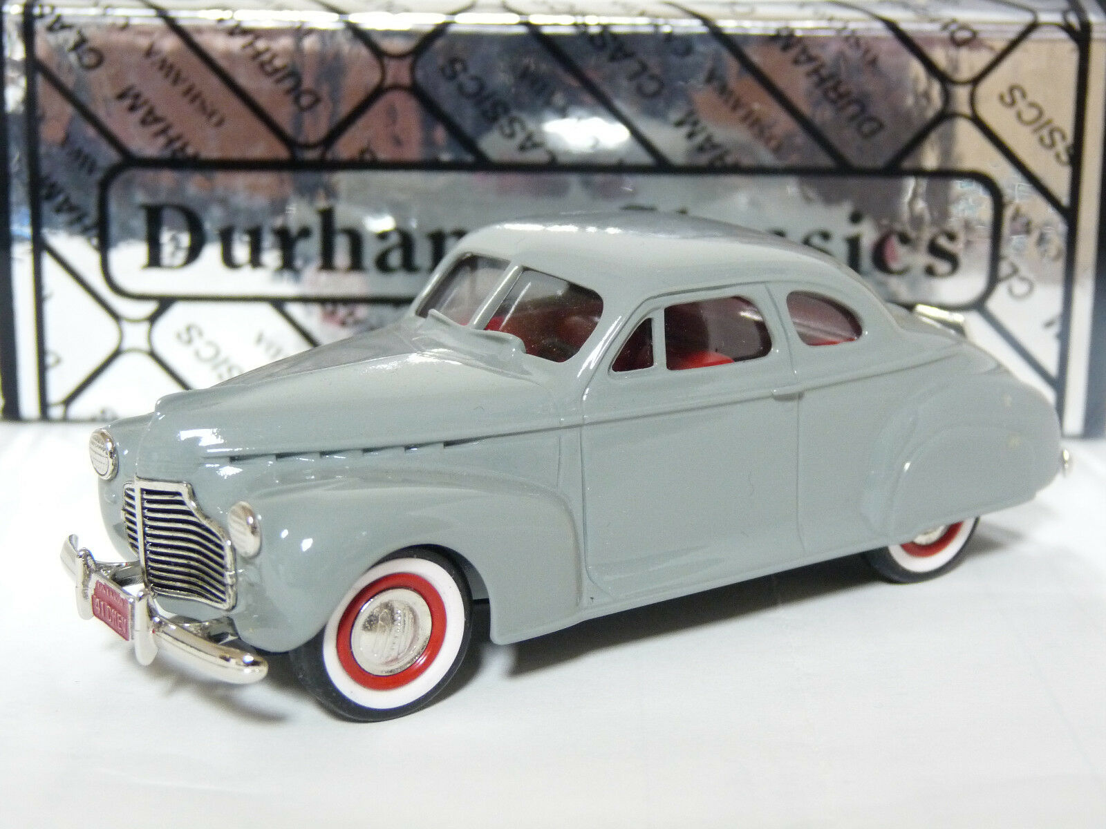 Durham DC-5C 1 43 1941 Chevrolet Coupe White Metal Handmade Model Car