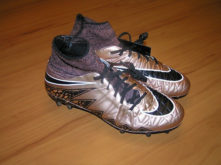 The most popular shoes for men and women Nike Hypervenom Phantom II ACC Bronze Black 747213 903 Soccer Cleats Price reduction