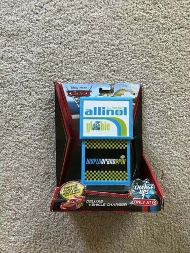 Allinol Deluxe Vehicle Charger NEW Disney Pixar CARS 2 Charge Ups