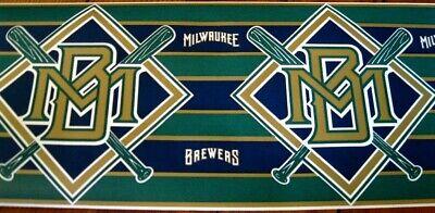 Wallpaper Border MLB Milwaukee Brewers